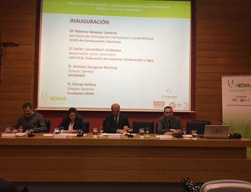 El sector cementero español genera un valor añadido bruto a la economía nacional de 538,5 millones de euros anuales