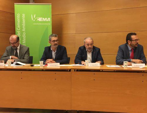 La industria cementera española evita anualmente que 2,3 millones de toneladas de residuos acaben en vertederos