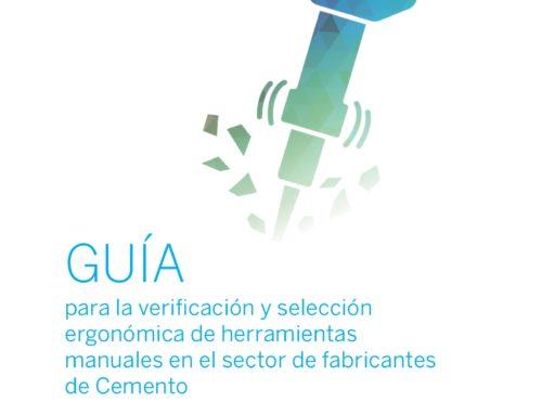 Presentación del estudio: Guía para la verificación y selección ergonómica de herramientas manuales en la industria del cemento