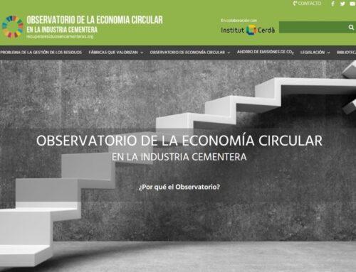 Nace el nuevo Observatorio de la economía circular de la industria cementera en España