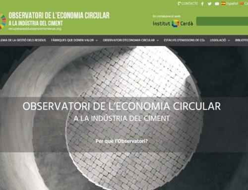 Disponible el Observatori de l'economia circular a la indústria del ciment
